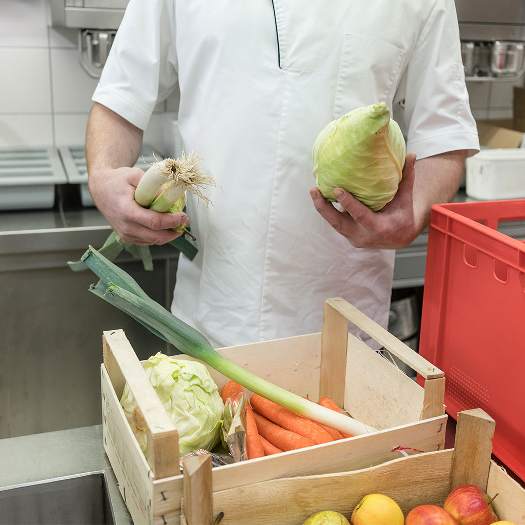 Wareneingangskontrolle in der Gastronomie