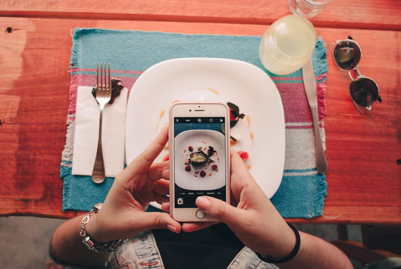 Instagram in der Gastronomie