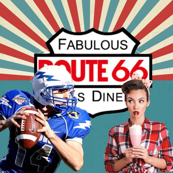 Superbowl im Route 66