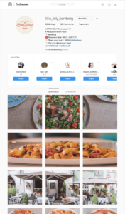Instagram Profil Little Italy Bamberg