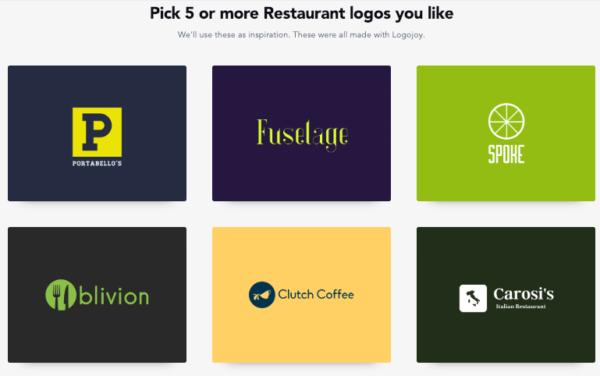 resmio |mit Logojoy Restaurantnamen finden