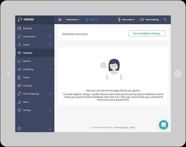 Feedback webapp