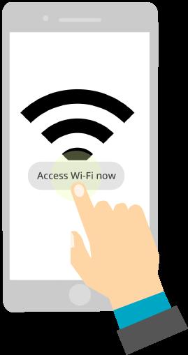 access wifi