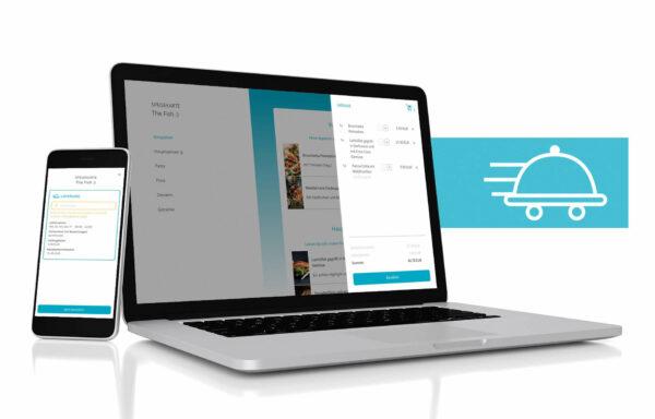Bestellsystem resmio mit Lieferfunktion
