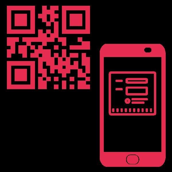 Qr kontaktdatenerfassung Icon