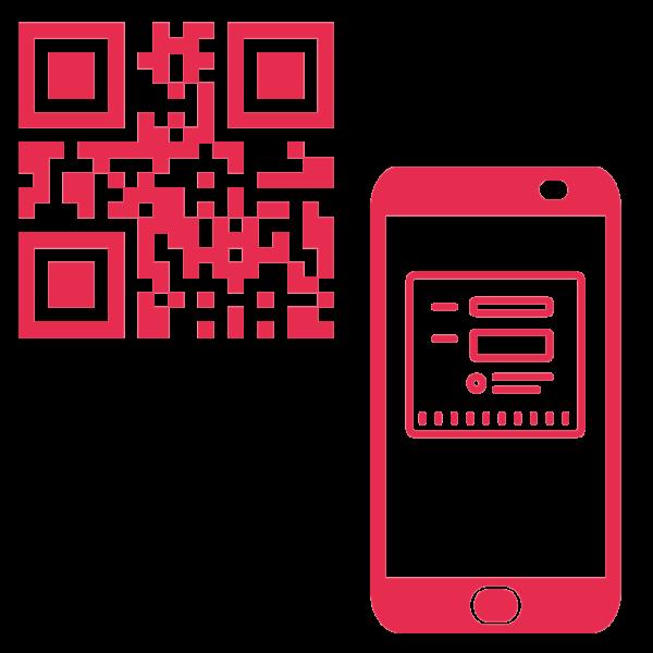 Gästeregistrierung GR Code Icon
