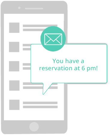 reservation reminder
