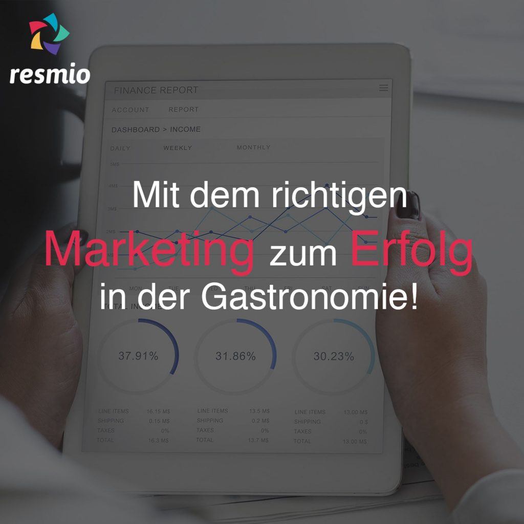 resmio magazin marketing so geht erfolg in der gastro