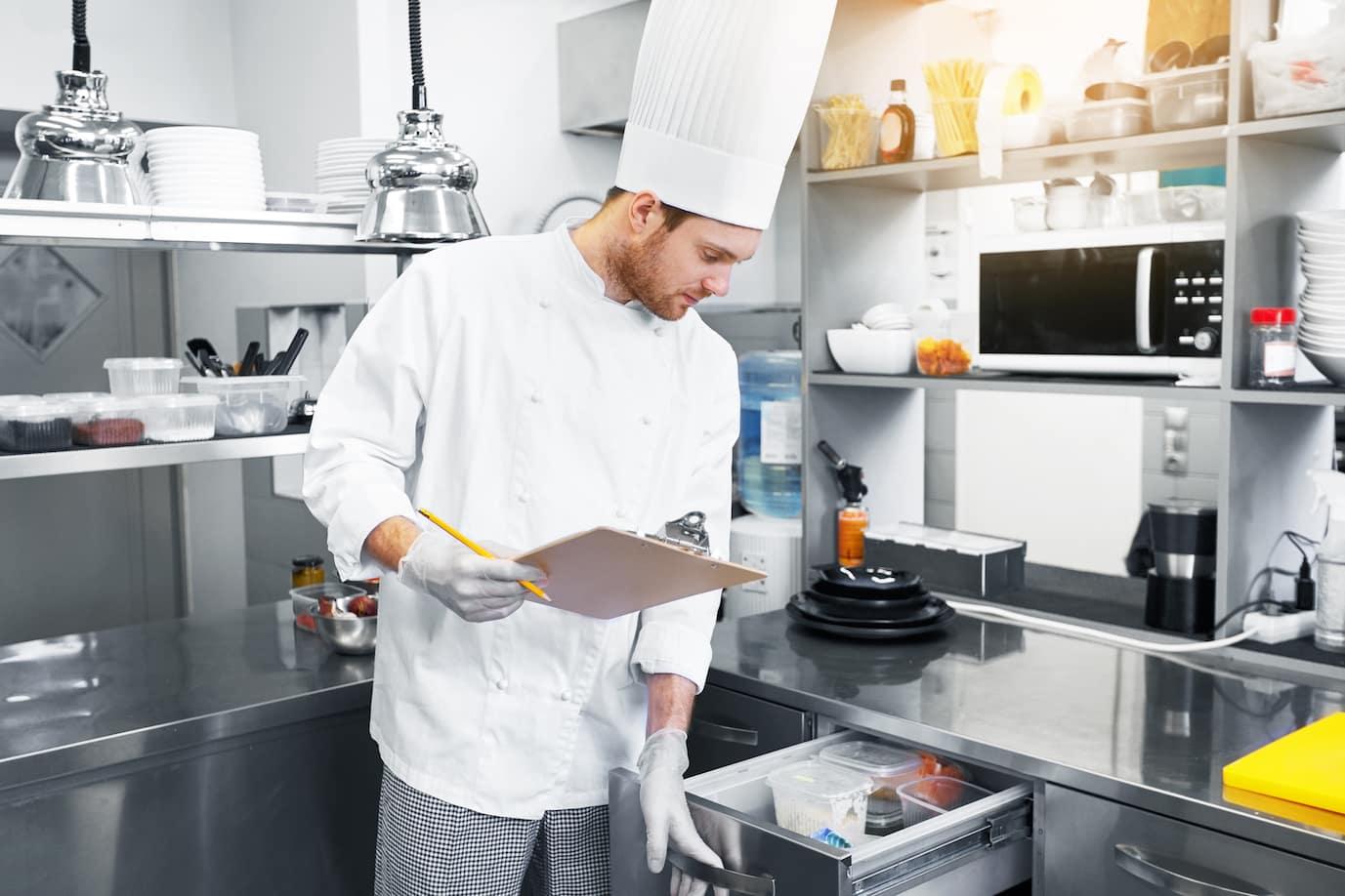 Inventur-Gastronomie