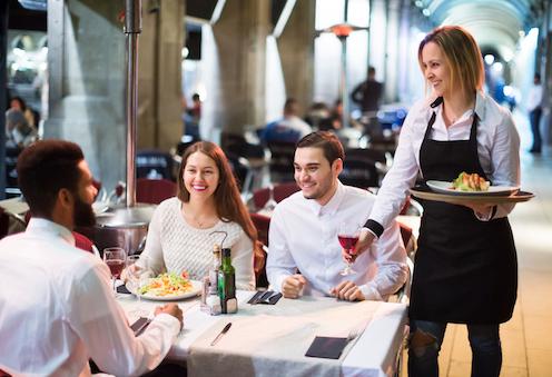 Umsatzsteigerung in der Gastronomie